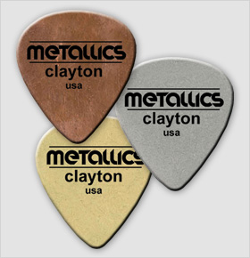 Clayton Metallics Stainless Steel Picks 3 Pack