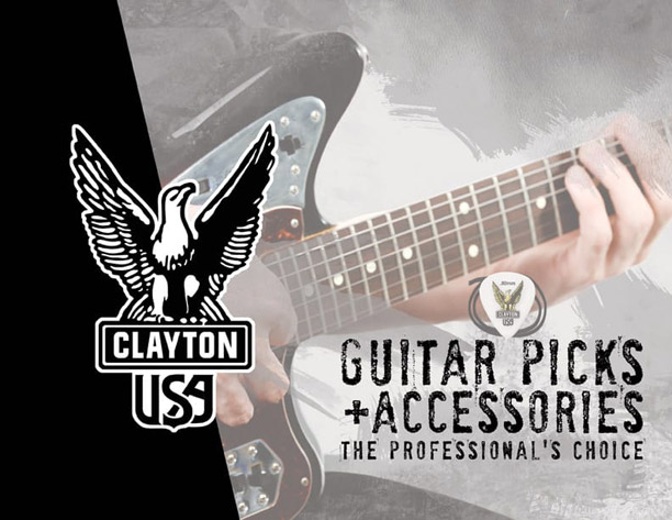 Steve Clayton, Inc./Clayton Custom Guitar Picks is your online leader for guitar picks, custom guitar picks and quality guitar accessories.